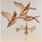 Signature Size Three Geese in Flight Weathervane