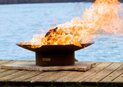 """Fire Pit Art Asia 60"""" Wood Burning Fire Pit"""