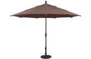 Treasure Garden Starlight 11' Octagon Collar Tilt Umbrella with Double Wind Vent