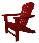 Polywood Ultimate Adirondack Chair with Built In Foot Rest