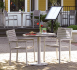 "Oxford Garden Travira 32"" Bistro Table"