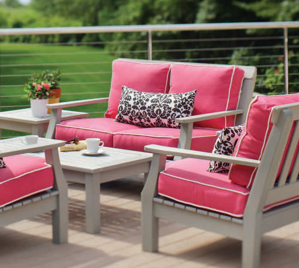 Incroyable Seaside Casual Nantucket Deep Seating Love Seat