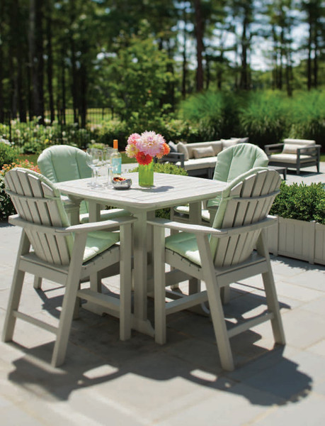 Seaside Casual Portsmouth 42 Square Balcony Table