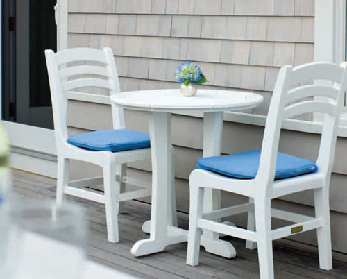 Seaside Casual Charleston Side Chair, Bar Chair Balcony Chair Seat Cushion