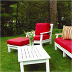 Seaside Casual Nantucket Lounge Chair Cushions Only