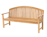 CO9 Design Dodger 6' Teak Bench