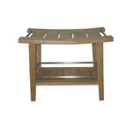 Garden Cottage Teak Shower Stool