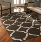 Uttermost Bermuda Area Rug - Charcoal