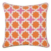 Anika Orange Toss Pillow