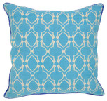 Baja Blu Toss Pillow