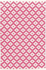 Dash & Albert Samode Fuchsia/White Indoor/Outdoor Rug