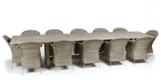 """CO9 Design Lakewood 160"""" Extension Table Dining Set"""