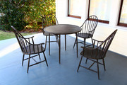 Three Coins Cast Windsor Dining Table