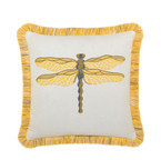 Elaine Smith Dragonfly Sun Toss Pillow