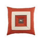 Elaine Smith Coral Cruise Jewel toss pillow