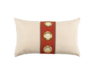 Elaine Smith Coral Cruise Vertical Lumbar pillow