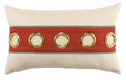 Elaine Smith Coral Cruise Horizontal Lumbar pillow