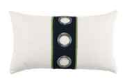 Elaine Smith Navy Cruise Vertical Lumbar pillow