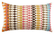 Elaine Smith Modern Oval Candy Lumbar pillow