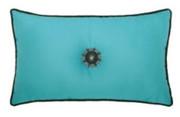 Elaine Smith Jeweled Aruba Corded Lumbar pillow