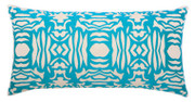 Elaine Smith Aruba Block Lumbar pillow