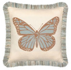 Elaine Smith Butterfly Spa toss pillow