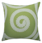 Elaine Smith Spiral Kiwi toss pillow