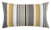 Elaine Smith Shadow Stripe Lumbar pillow