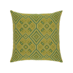 Elaine Smith Borneo Tile toss pillow