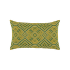 Elaine Smith Borneo Tile Lumbar pillow