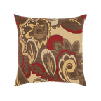 Elaine Smith Golden Floral toss pillow