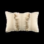 Elaine Smith Gladiator Ivory Lumbar pillow