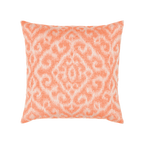 Elaine Smith Bali Coral toss pillow