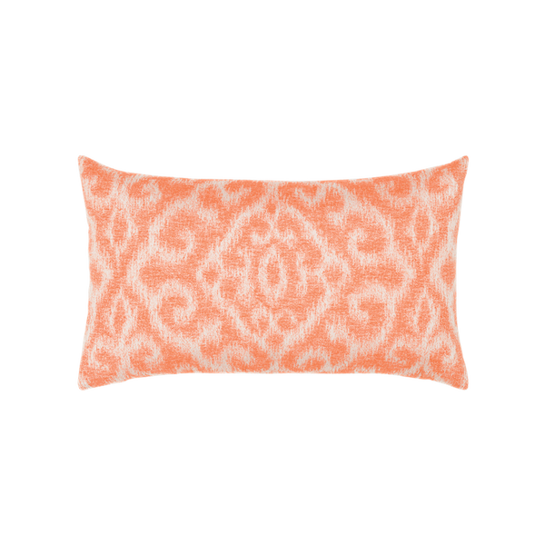 coral cover orange colored and euro velvet pillow sham lumbar