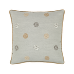 Elaine Smith Celestial Silver toss pillow