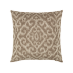 Elaine Smith Bali Mocha toss pillow