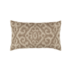 Elaine Smith Bali Mocha Lumbar pillow