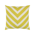 Elaine Smith Citron Chevron toss pillow
