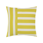 Elaine Smith Citron Stripe toss pillow