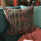 Montage Pillow  Multi with Feather Insert