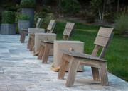 CO9 Design Luna Adirondack Chair in Espresso