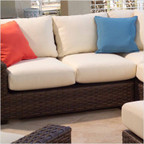 Contempo Love Seat Cushion Set