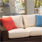 Contempo Love Seat Back Cushion Set