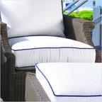 Hamptons Lounge Chair Seat Cushion