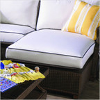 Hamptons Right Arm Chaise Seat Cushion