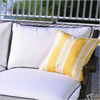 Hamptons Right Arm Chaise Back Cushion