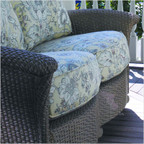 Oxford Love Seat Cushion Set