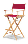 Telescope Casual World Famous Bar Height Outdoor Director Chair w/ Cover