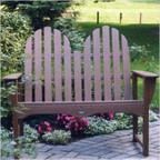 "48"" Adirondack Bench"