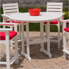 """48"""" Outdoor Counter Height Table"""